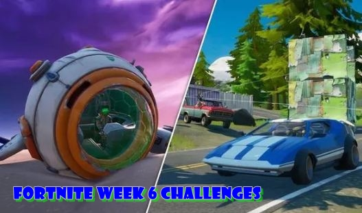 FORTNITE WEEK 6 CHALLENGES