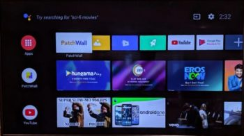 android tv update