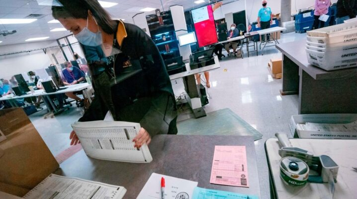 New State Laws Limiting Voters Rights